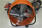 Maxx Air Orange Metal Fan